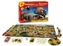 animaux de la savane