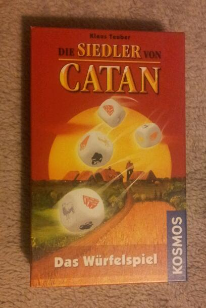 Catane : jeu de dés