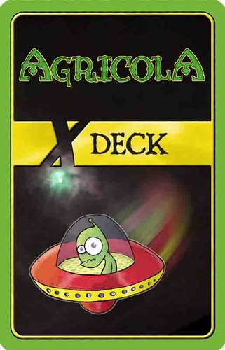 Agricola : Deck X