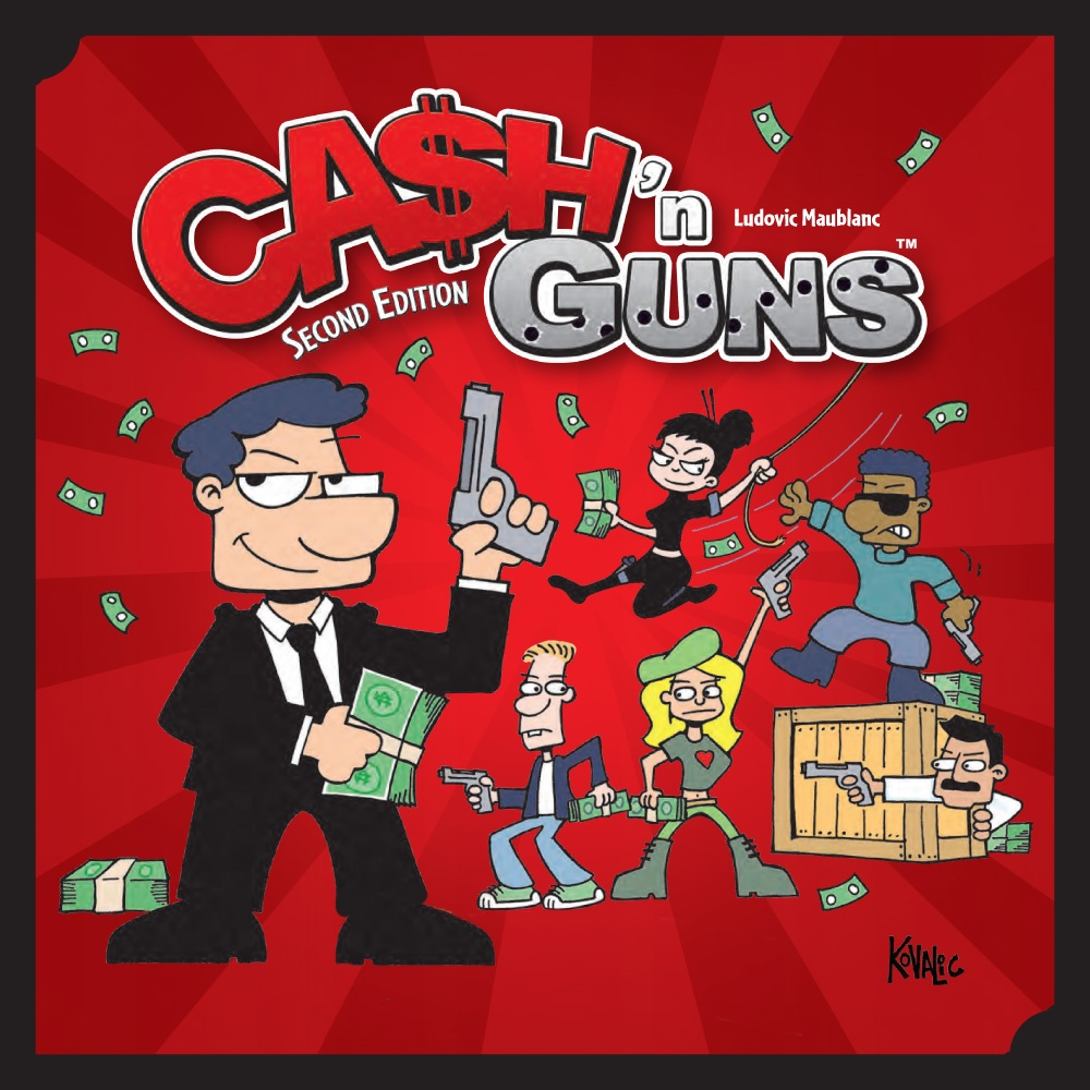 Cash'n Guns - Seconde Edition