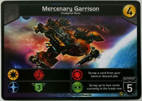 Star Realms - Mercenary Garrison Promo Card
