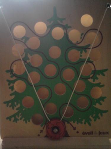 arbre a bille en bois