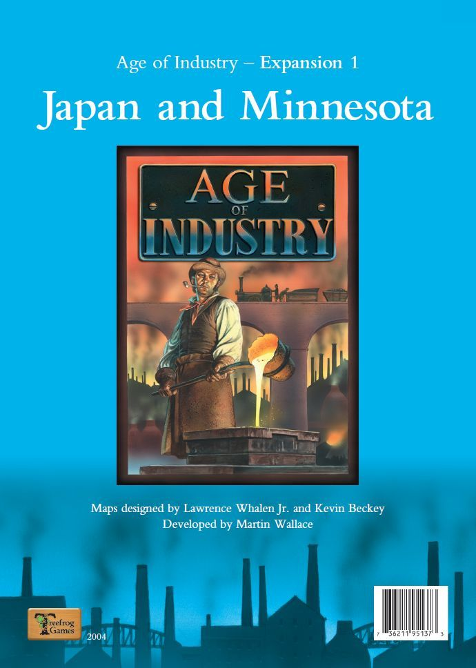 Age of Industry - extension Japan & Minnesota