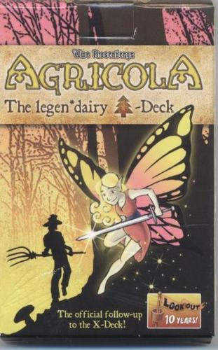 Agricola : The Legen*dairy Forest Deck