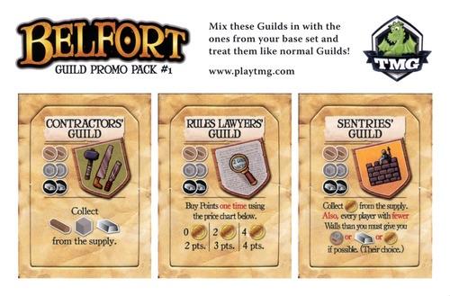 Belfort : Guild promo pack #1