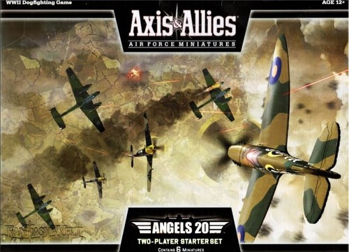 Axis & Allies Air Force Miniatures: Angels 20
