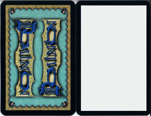Dominion - Cartes Vierges