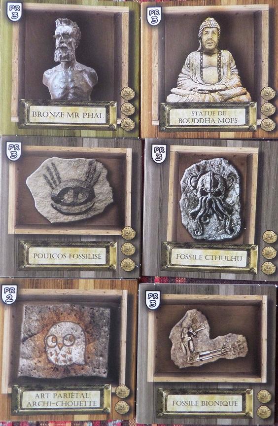 Archaeologia - Tuiles Bonus