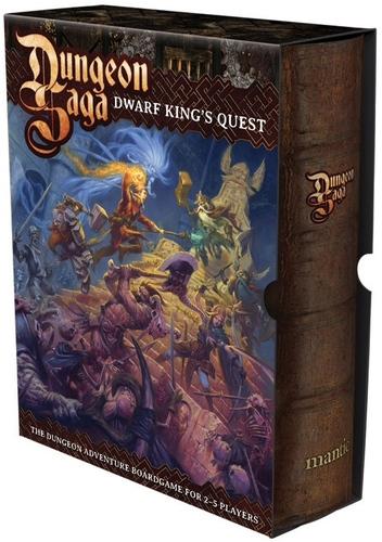 Dungeon Saga : Dwarf King's Quest