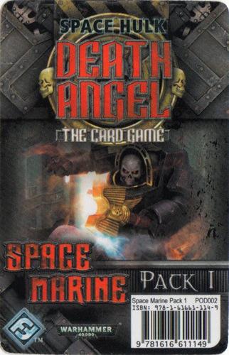 Space Hulk: Death Angel  Space Marine Pack 1
