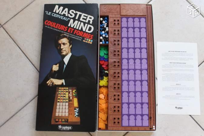 Master mind couleurs et formes