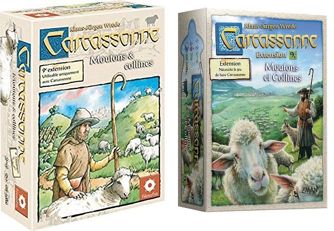 Carcassonne : 09 - Moutons et Collines