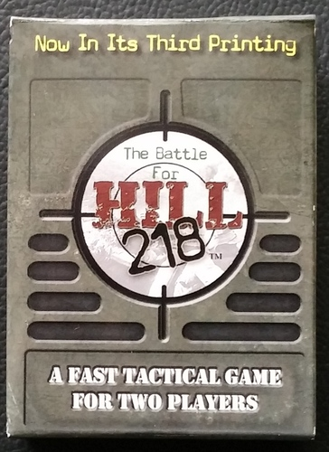 Battle for Hill 218