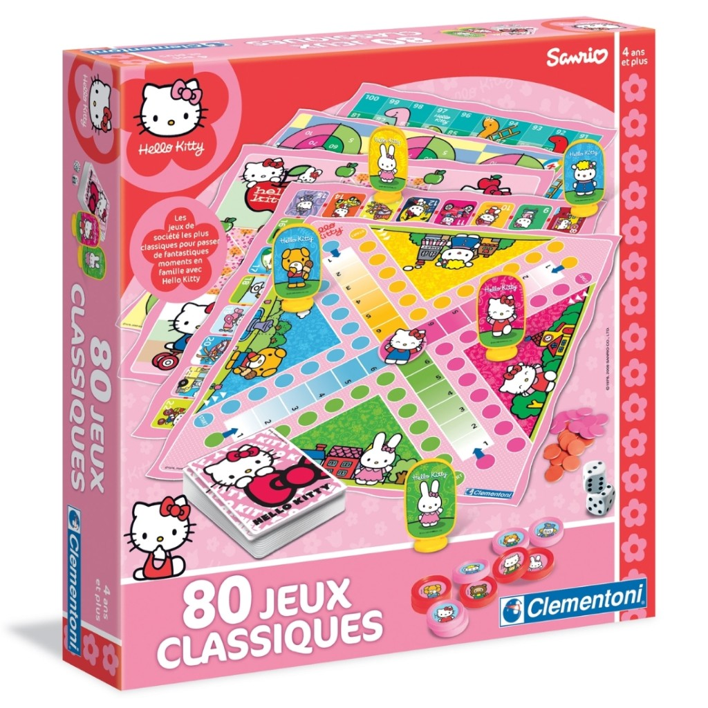 80 jeux classiques Hello Kitty