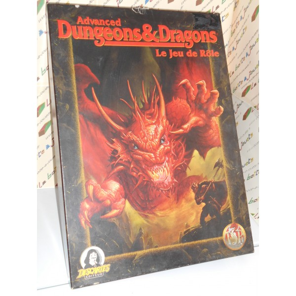 ADVANCED DUNGEONS & DRAGONS - LE JEU DE ROLE