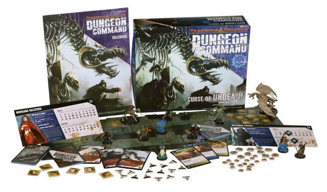 Dungeon Command: 3 boîtes