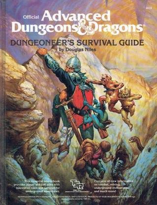 ADVANCED DUNGEONS & DRAGONS Dungeoneer's Survival Guide