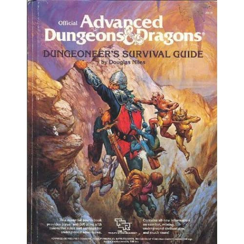 Advanced Dungeons & Dragons - 1st Edition - Dungeoneer's Survival Guide