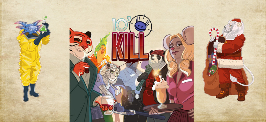 10' to Kill - Goodie Lion