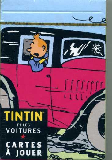 Jeu de 54 Cartes à jouer Tintin