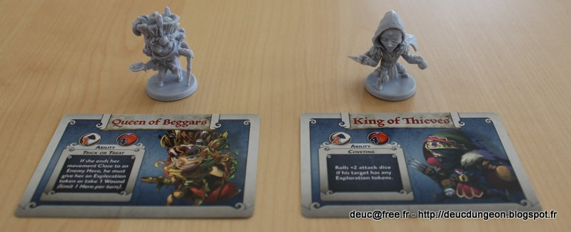 Arcadia Quest - Héros Guildmaster - Reine des Mendiants & Roi des Voleurs