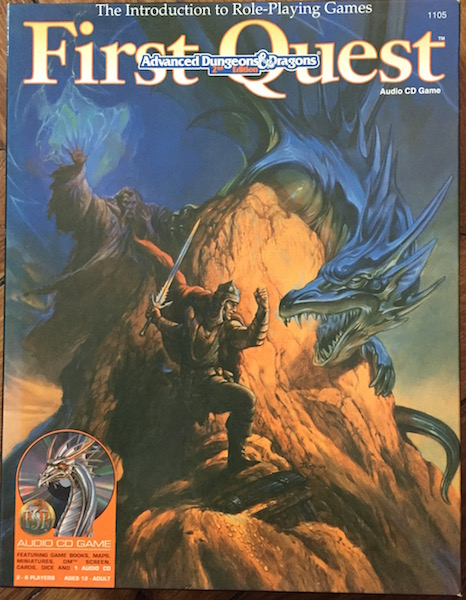 Advanced Dungeons & Dragons - 2nd Edition - First Quest