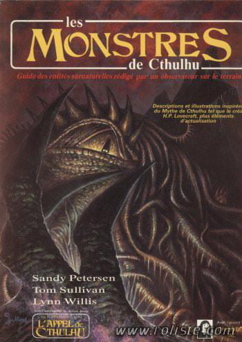 L'appel de Cthulhu - Les monstres de Cthulhu