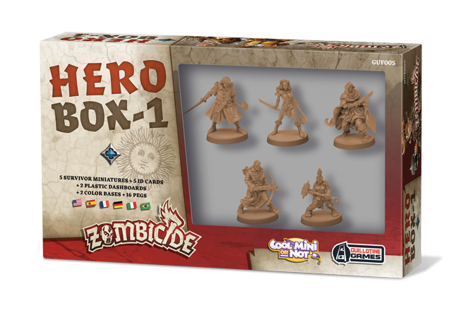 Zombicide black plague Hero box 1