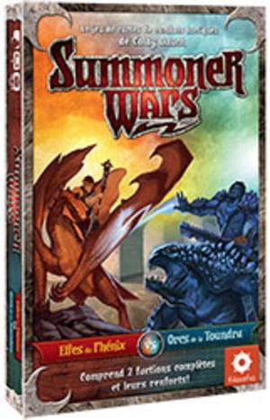 Summoner Wars : Elfes du Phénix vs Orcs de la Toundra
