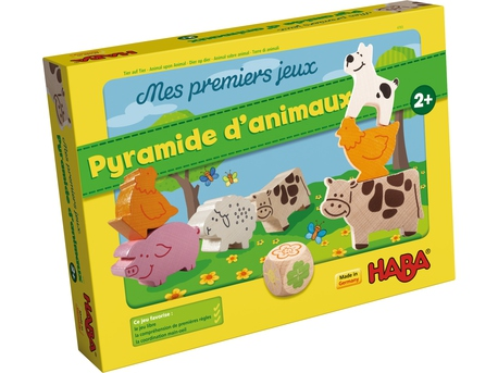 pyramide d'animaux- mes premiers jeux