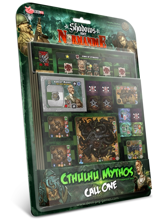 Shadows over Normandie : Cthulhu Mythos Call One