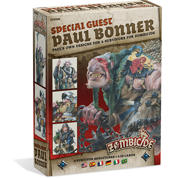 Zombicide Black Plague - Special Guest Box - Paul Bonner