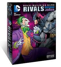 DC Comics Deck Building Game Rivals Batman vs Joker