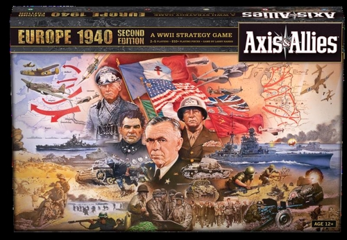 Axis & Allies 1940 Europe + Pacific