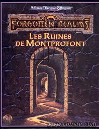Advanced Dungeons & Dragons - 2ème Edition VF - Les ruines de Montprofond