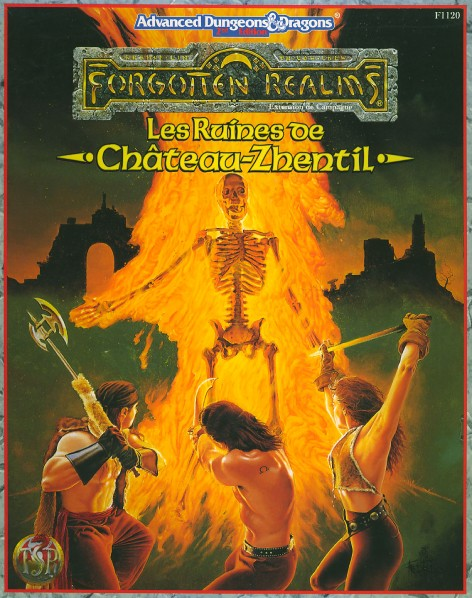 Advanced Dungeons & Dragons - Les ruines de Chateau Zhentil