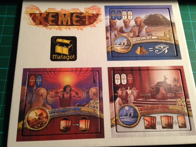 Kemet - promo dice tower