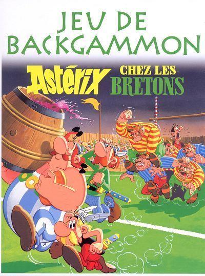 Astérix chez les Bretons : Jeu de Backgammon