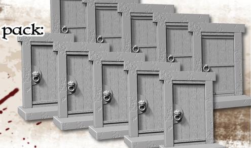 Acheter conan lot de portes d 39 occasion sur okkazeo for Porte zombicide