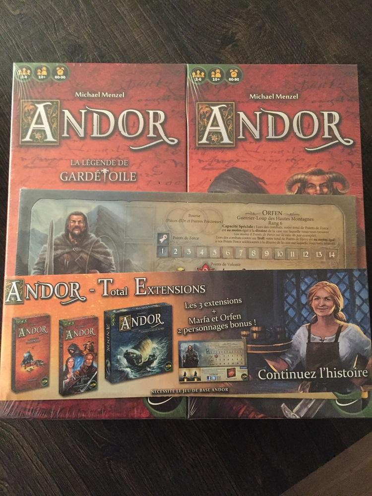 Andor - Bundle extensions