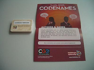Codenames : Cartes promotionnelles