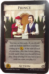 Dominion - Goodies carte Prince