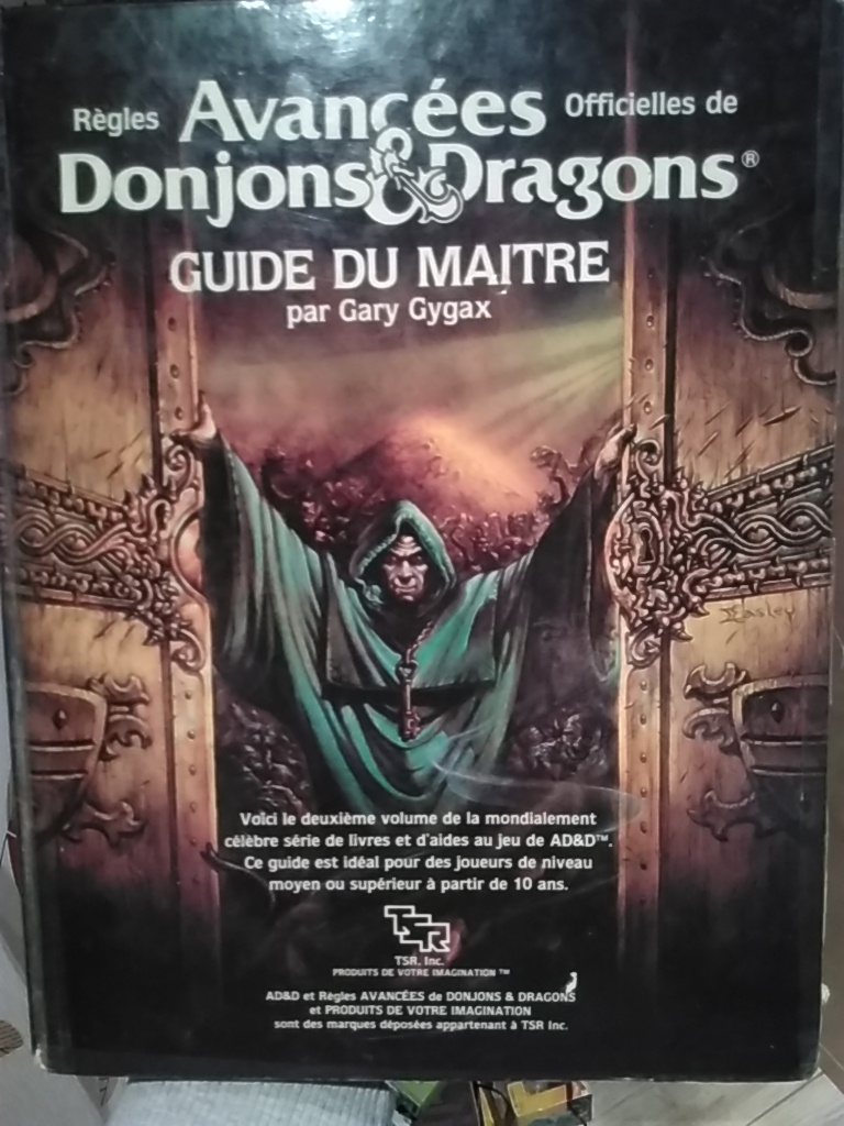 Advanced Dungeons & Dragons - Le Guide du Maitre