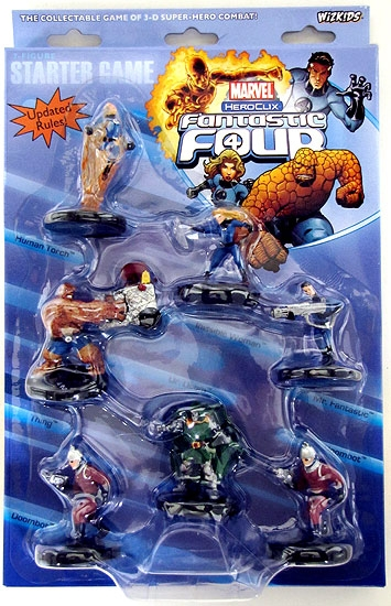 Marvel HeroClix Fantastic Four Starter Pack