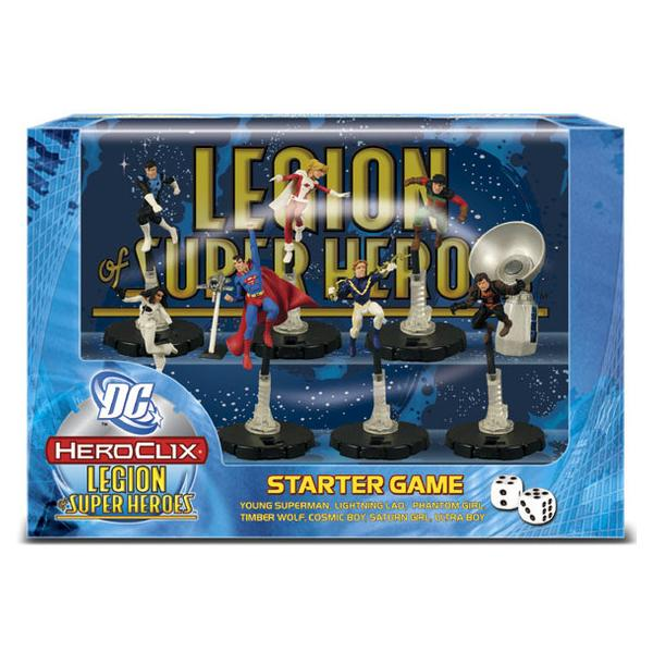 DC HeroClix Legion of Super Heroes Starter Pack