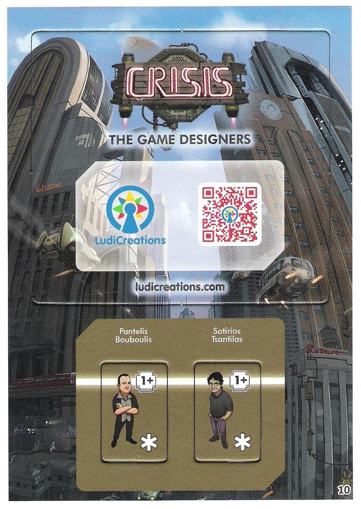 Crisis - The Game Designers