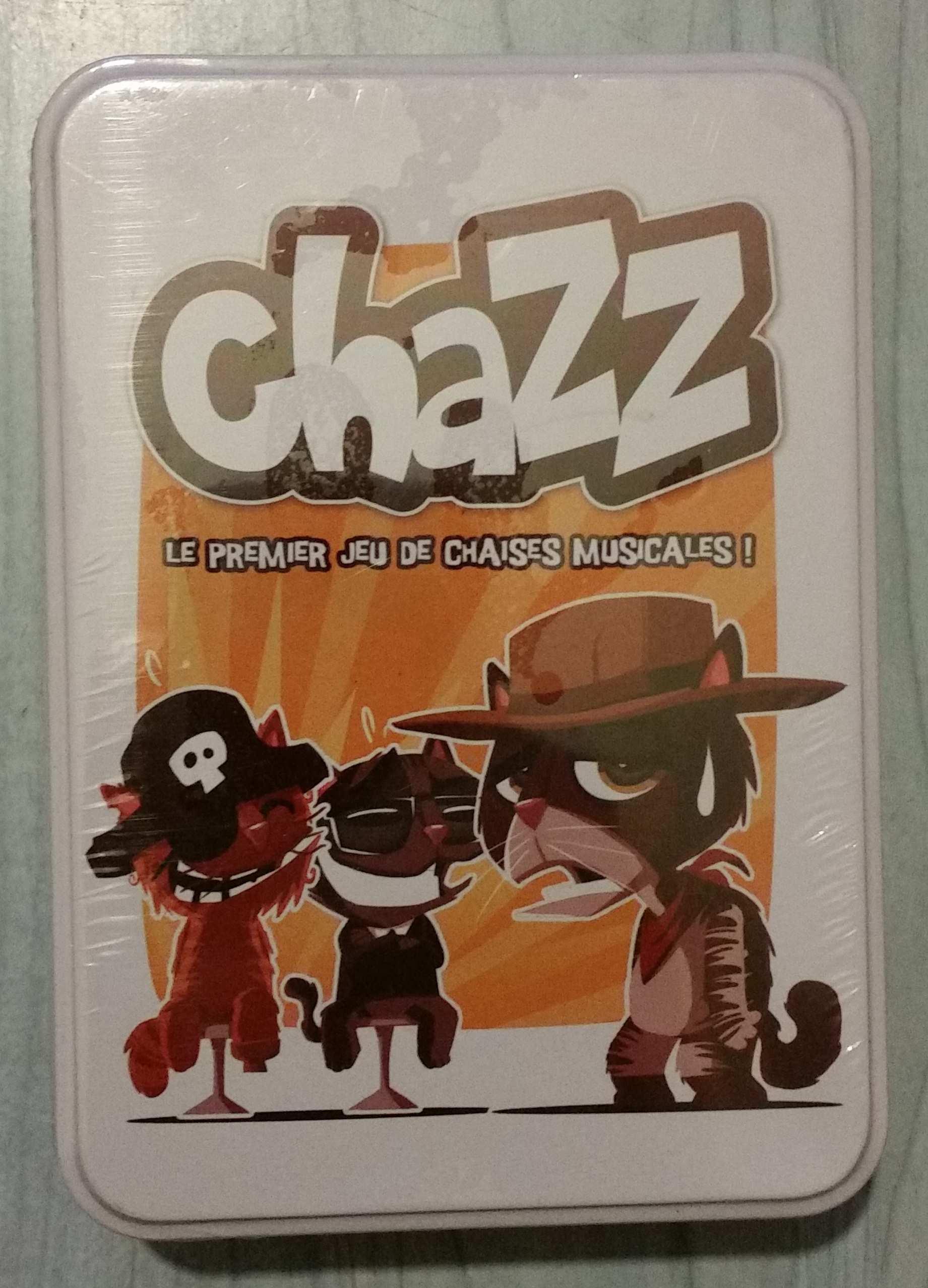 Chazz le premier jeu de chaises musicales !
