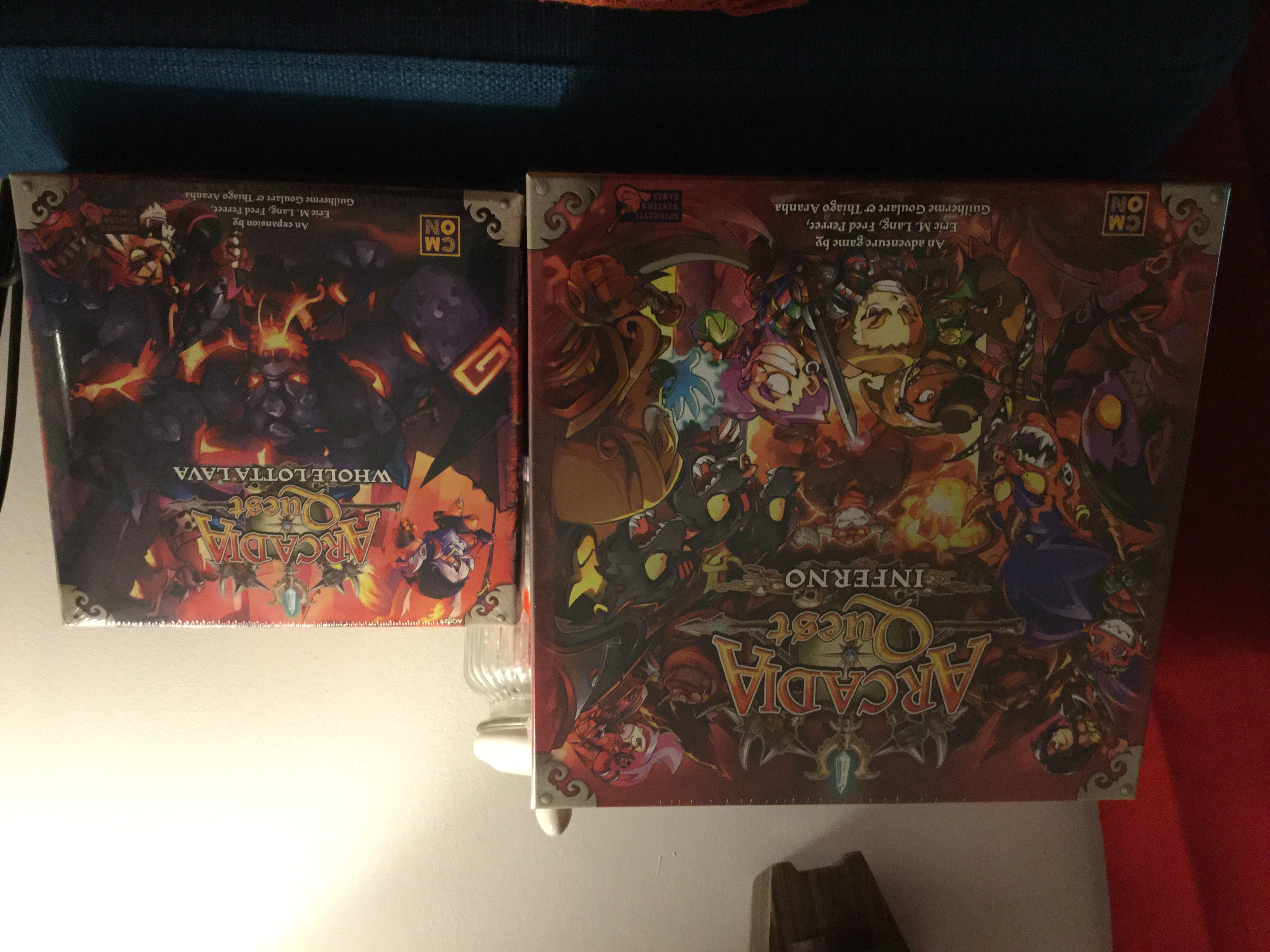 Arcadia quest inferno et Arcadia quest whole lotta lava
