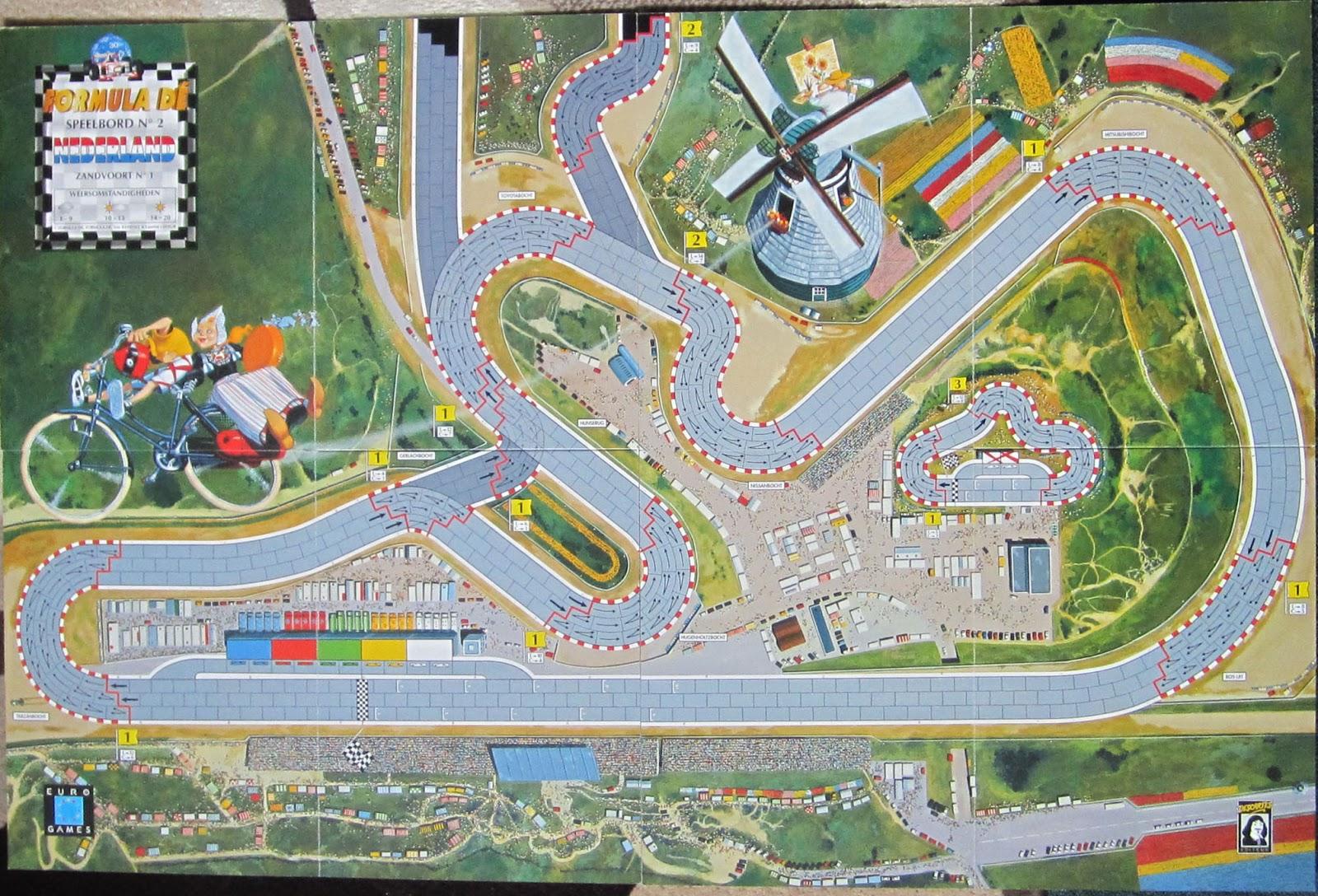Formule Dé : Circuit N°1 & 2 - Monaco / Zandvoordt 1