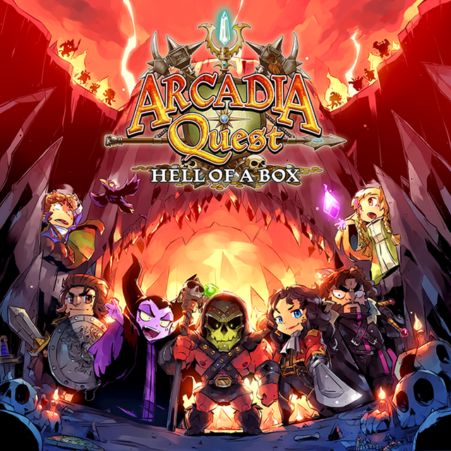 Arcadia quest - Hell of Box